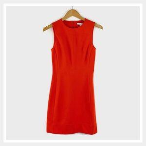 Diane von Furstenberg Reona Two Dress Orange 0